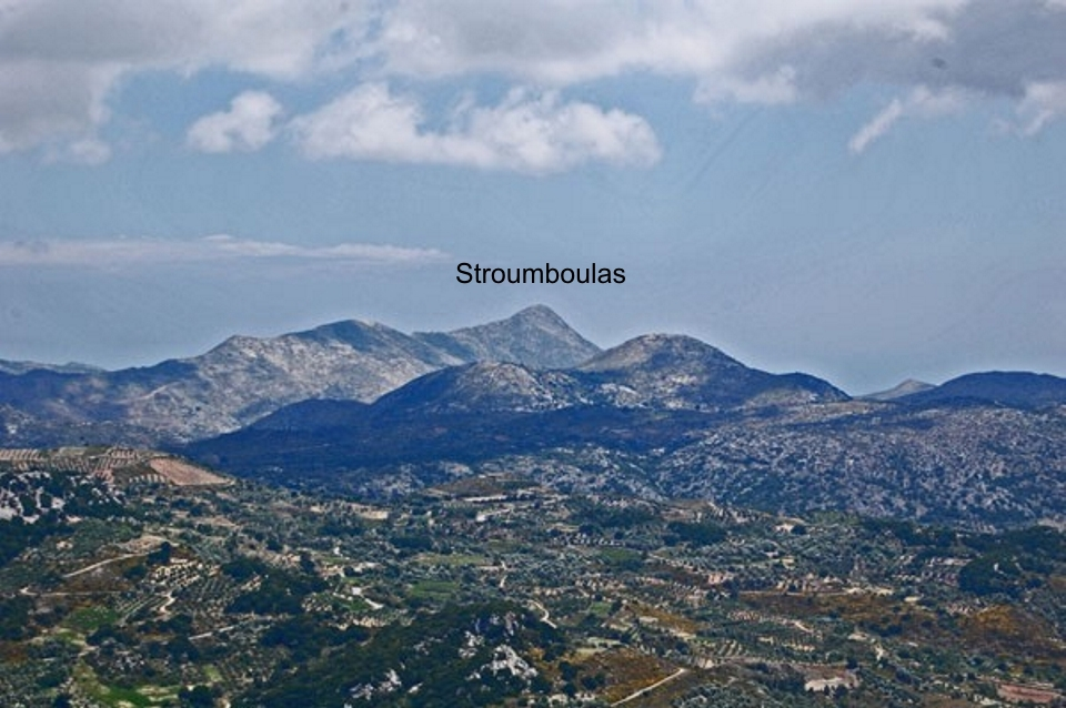 view of Stroumboulas to the north of Philioremos